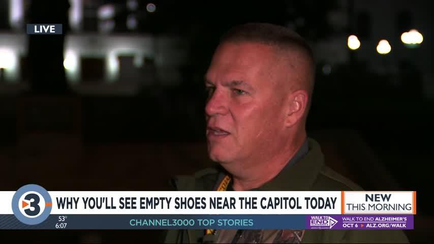 Expect to see hundreds of abandoned shoes near the Capitol Thursday: Here's why