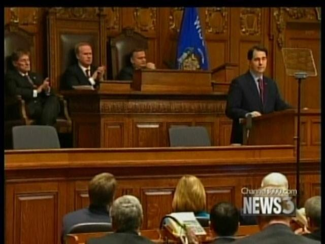 Walker to deliver third State of State speech