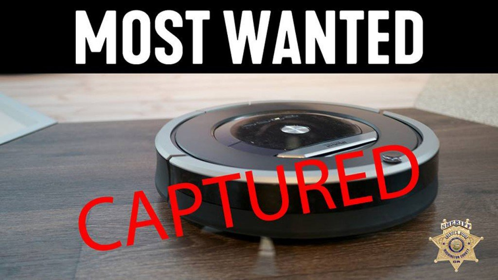 Officers respond to burglary call with guns drawn, find trapped Roomba