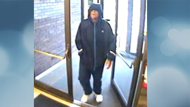 Police share surveillance photo of bank robber