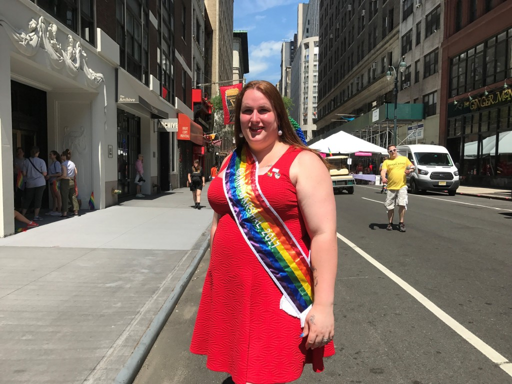 Transgender firefighter is NYC Pride Parade grand marshal