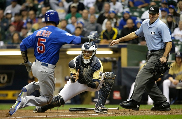 Cubs take best road record in majors to Milwaukee