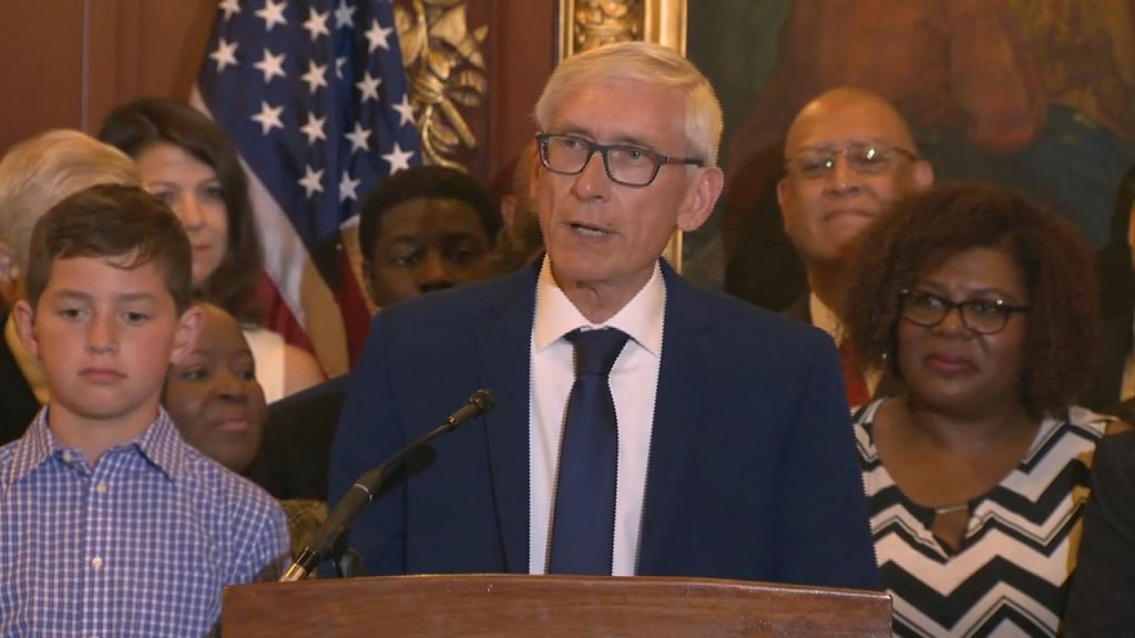 PHOTOS: Gov. Tony Evers signs first state budget