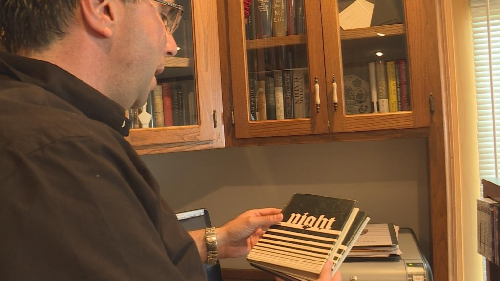 Local man shares special connection to the late Elie Wiesel
