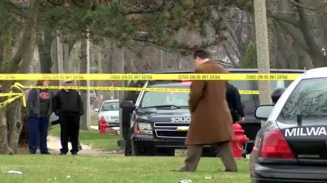 Police investigate double shooting after toddler's death