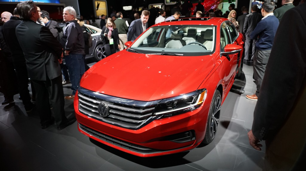 Volkswagen fully redesigns Passat sedan