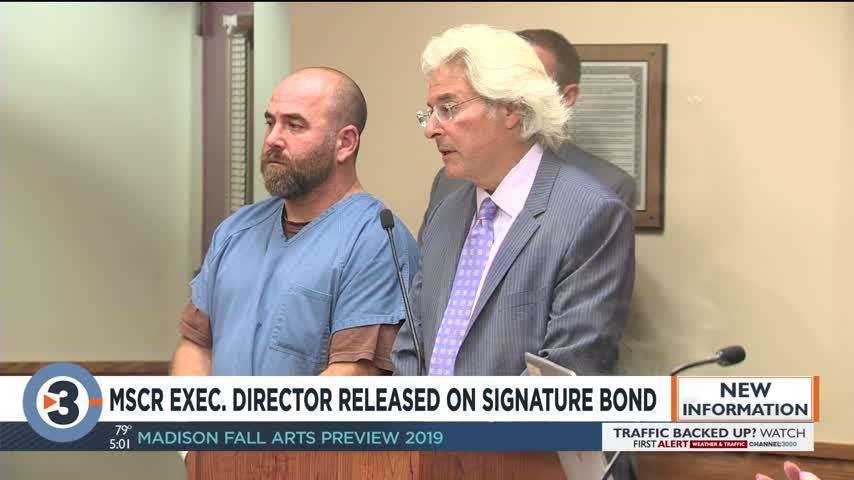 MSCR executive director gets $1K bond on 12 counts of possession of child porn