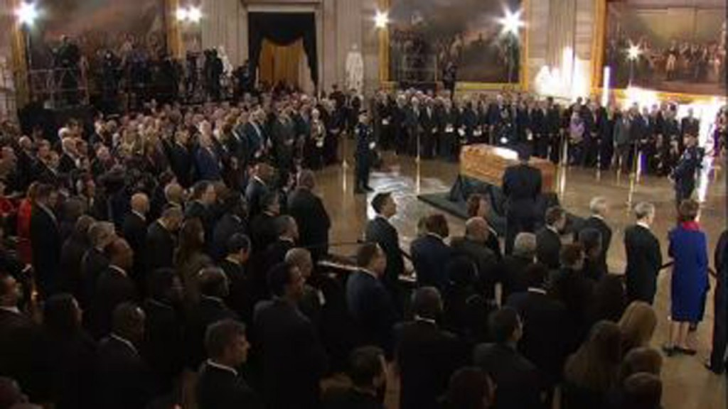 Billy Graham honored at US Capitol