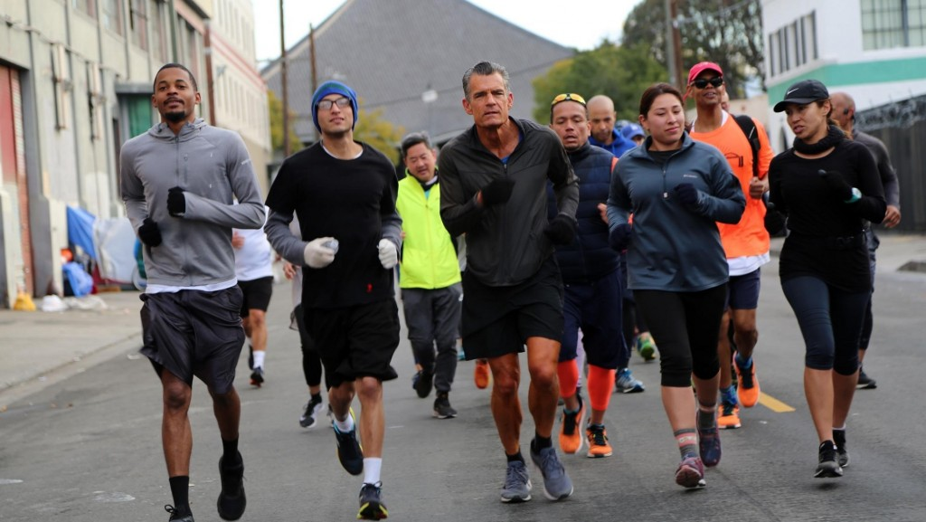 Judge's running club helps Skid Row's homeless rebuild their lives