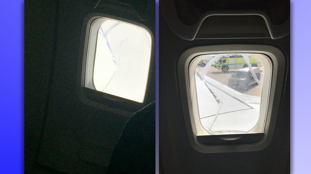 Southwest Flight 957 makes unplanned landing with broken window