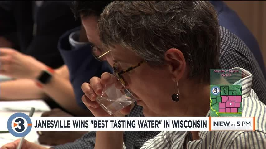 Janesville wins state competition for best-tasting water