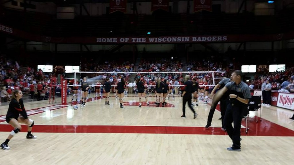 Badger volleyball ranked No. 1 for first time