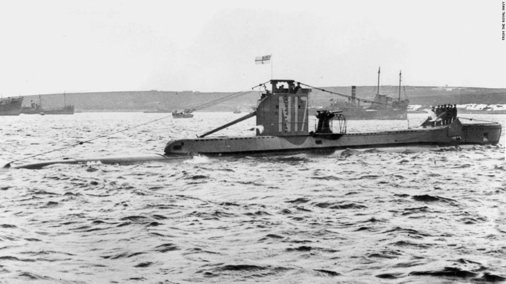Submarine that disappeared mysteriously in WWII found after 77 years