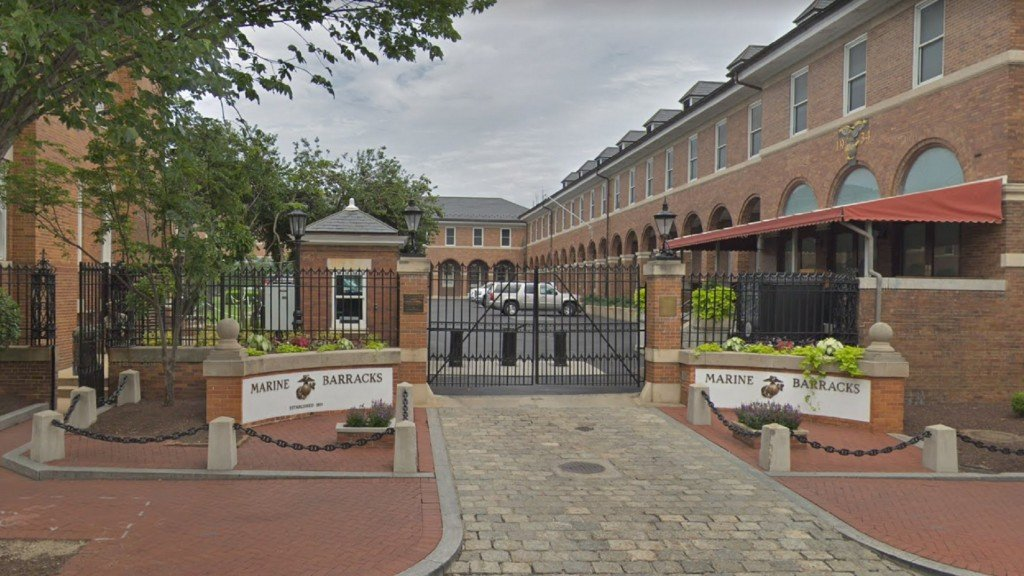 Marine shot, killed on duty at Marine Barracks in Washington, DC