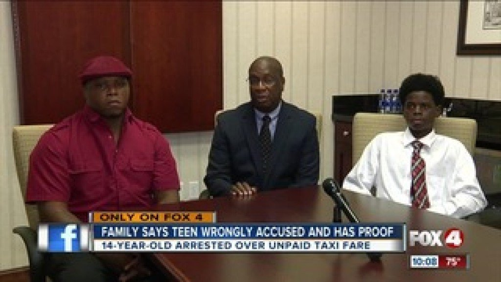 Family Of Florida Boy Says He Was Wrongfully Arrested