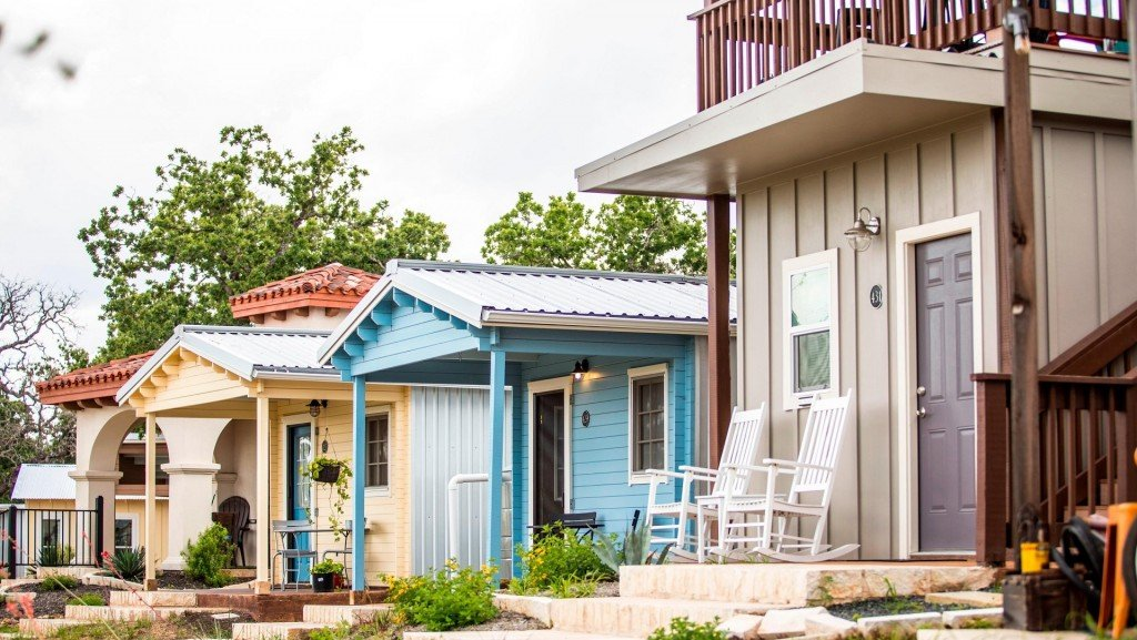 Texas city builds a suburbia for its homeless