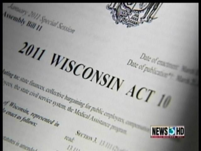 State legal bills near $850K for defending Act 10
