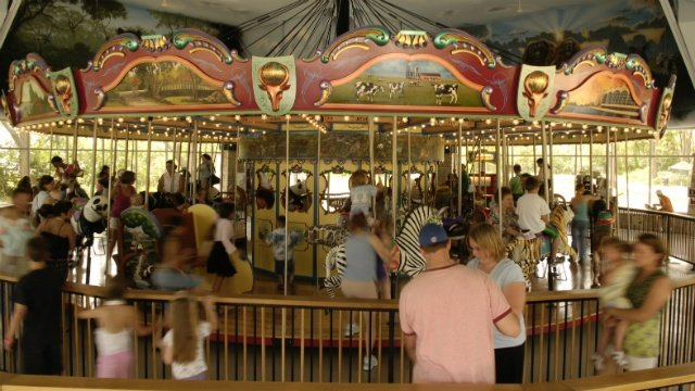 Carousel at Henry Vilas Zoo opens during holiday weekend