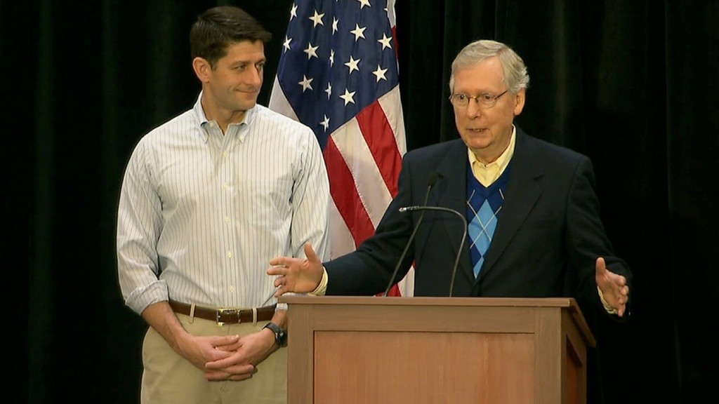 McConnell, Ryan warn Trump about government shutdown