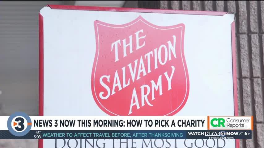 News 3 Now This Morning: How to pick a charity
