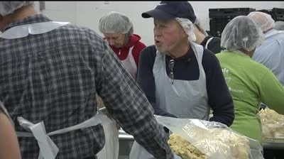 New volunteers come out for Day of Service