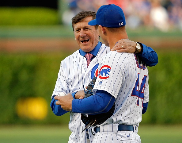 Sager surrounded by family for memorable return to Wrigley