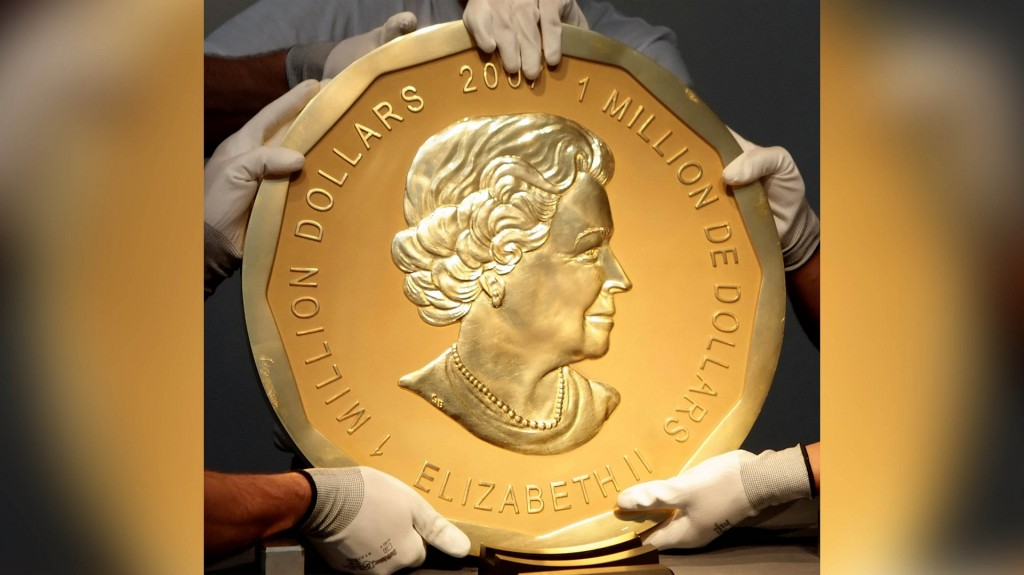 Trial begins in Hollywood-style heist of giant coin worth $4 million