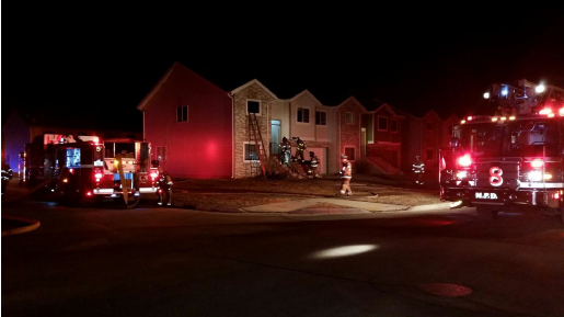 Fire on southeast side displaces 7