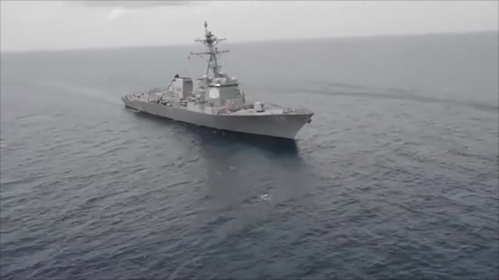 US destroyers sailed through Taiwan Strait