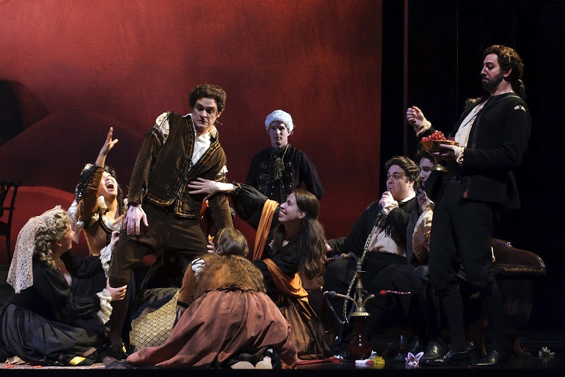 Don Giovanni is a treat for all the senses