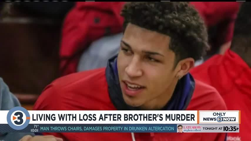Living with loss after brother's murder