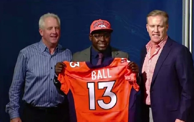 Broncos waive Montee Ball