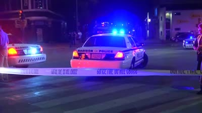 See images from scene of University Avenue shooting