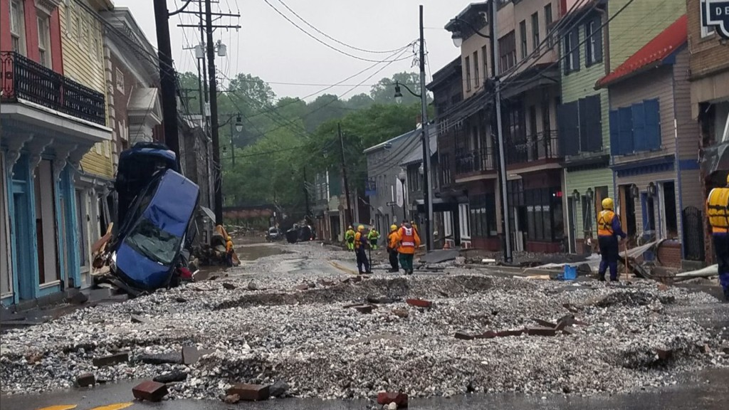 It S Even Worse Ellicott City Hammered Again With Floodwaters