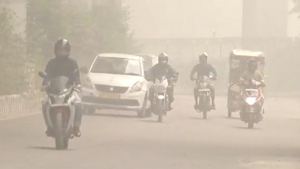 Perfect storm fuels New Delhi's deadly pollution
