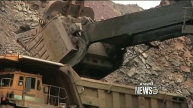 Mining company withdraws application