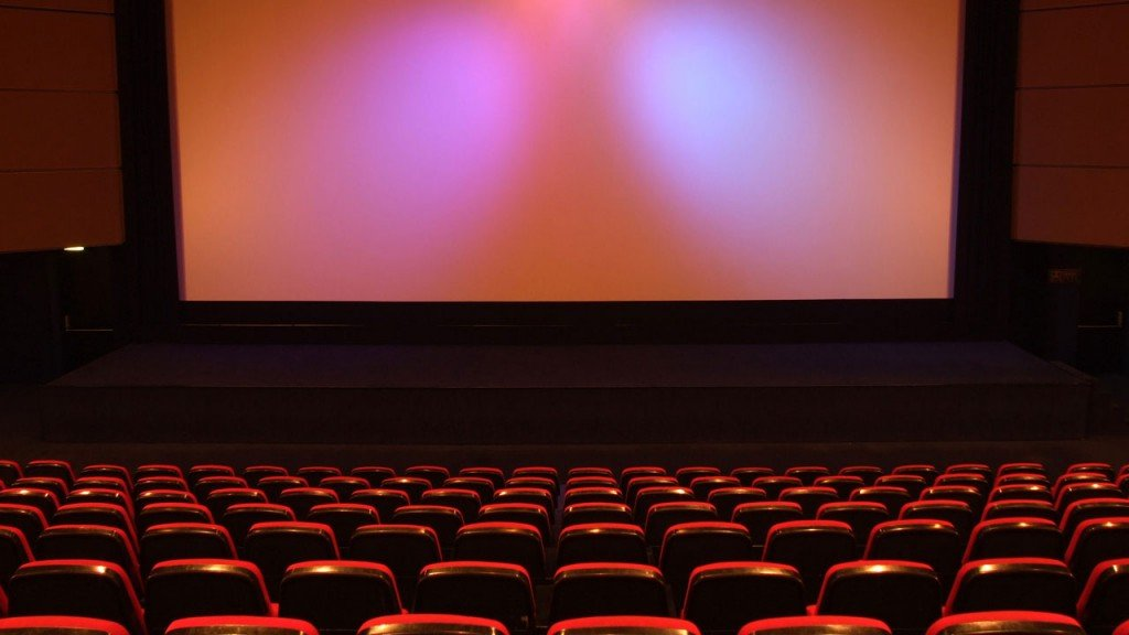 movie theater screen,