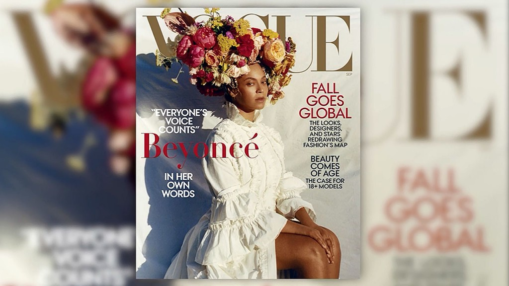The story behind Tyler Mitchell's Vogue cover of Beyoncé
