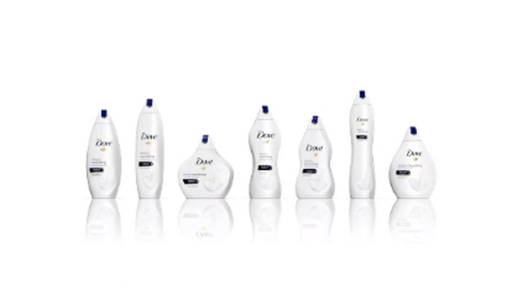Dove sparks controversy over new bottles