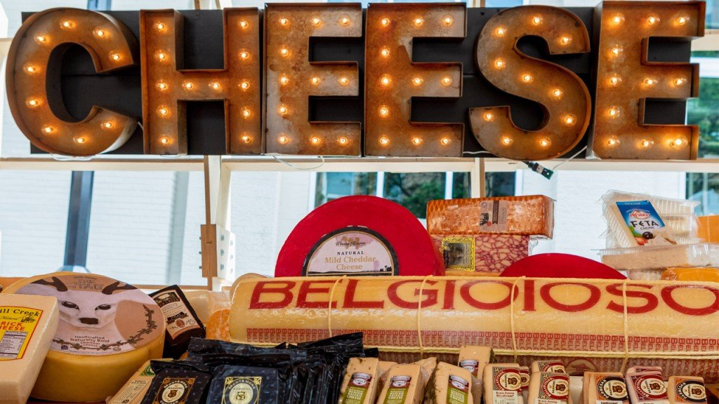 World's Largest Cheeseboard, Aug. 1, 2018