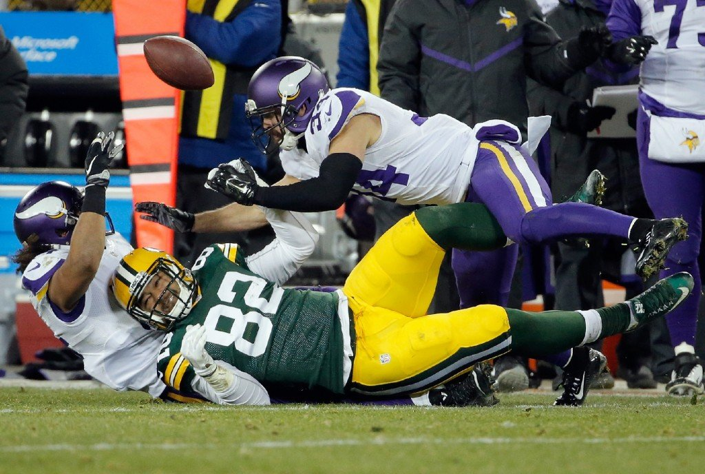 Packers lose to the Vikings 13 to 20 in the final game of the regular season