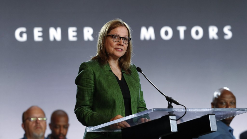 GM CEO calls meeting with union, as strike drags on