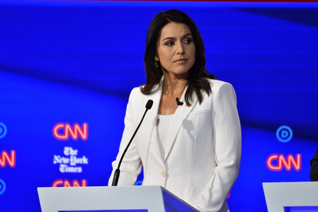 Clinton suggests Russians 'grooming' Tulsi Gabbard for third-party run