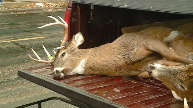 Hunters test out new electronic deer registration system during opening weekend
