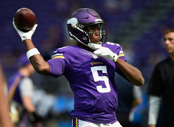 Vikings QB Bridgewater vows to attack rehab from knee injury