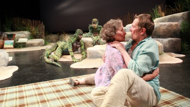 Wineke theater view: Two lizards enliven APT production