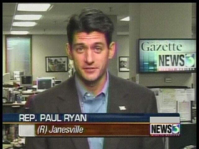 Ryan dodges vice president question in Janesville stop