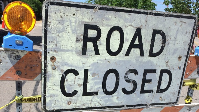 Portion of Marsh Road to be closed through July
