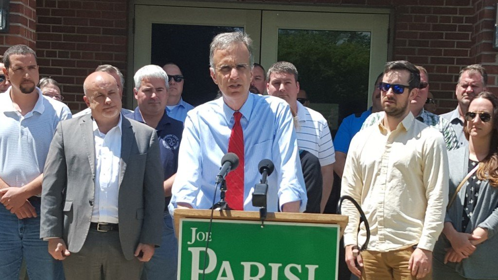 Parisi running for re-election