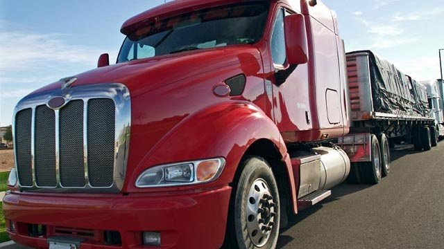 Truck driver shortage sends shipping costs sky-high